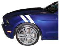 Mustang Vent Stripe - Custom Vinyl Graphics