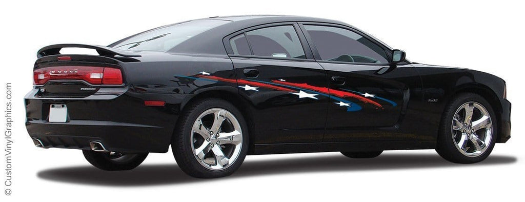 American Courage Vinyl Graphic - Custom Vinyl Graphics