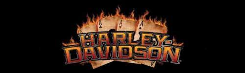 Flaming Ace Harley-Davidson Rear Window Graphic - Custom Vinyl Graphics