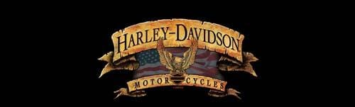Freedom Banner Harley-Davidson Rear Window Graphic - Custom Vinyl Graphics