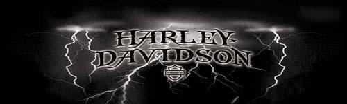 Strike Harley-Davidson Rear Window Graphic - Custom Vinyl Graphics