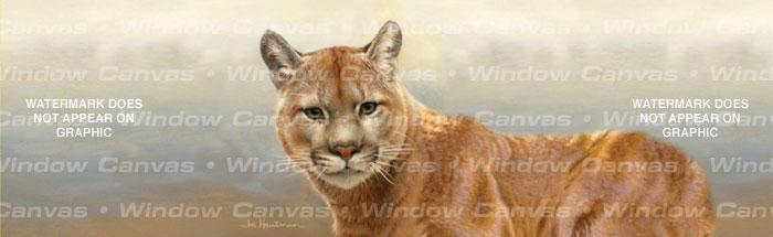 Cougar Rear Window Graphic - Custom Vinyl Graphics