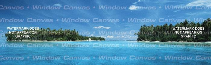 El Beacho Paradiso Rear Window Graphic - Custom Vinyl Graphics