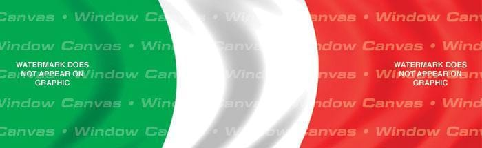 Italy Rear Window Graphic - Custom Vinyl Graphics