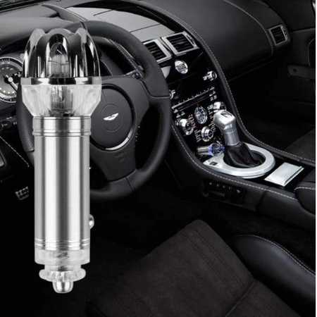 CAR AIR PURIFIER & IONIZER