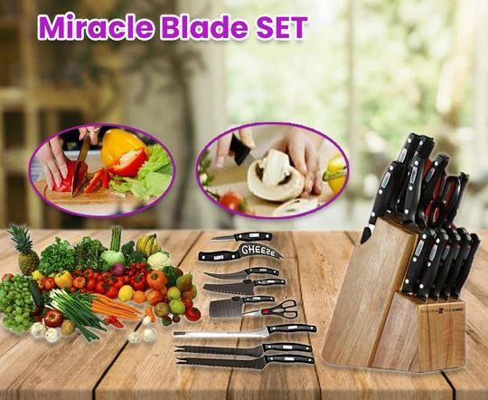 13 IN 1 KITCHEN KNIVES SET
