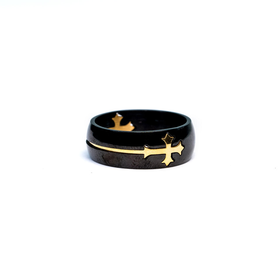 Deluxe Cross Ring .