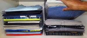 EZ STAX (CLOTHES AND OFFICE ORGANIZER) .