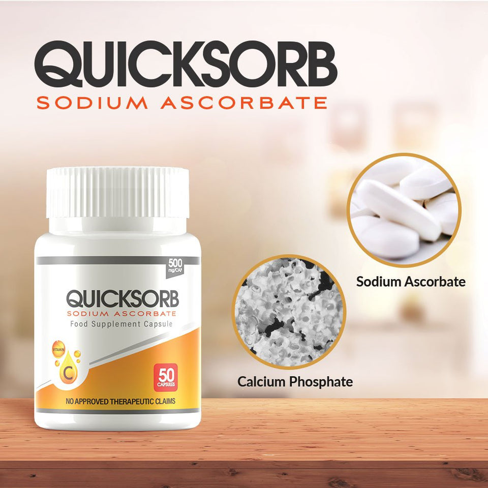 Quicksorb Sodium Ascorbate with Calcium