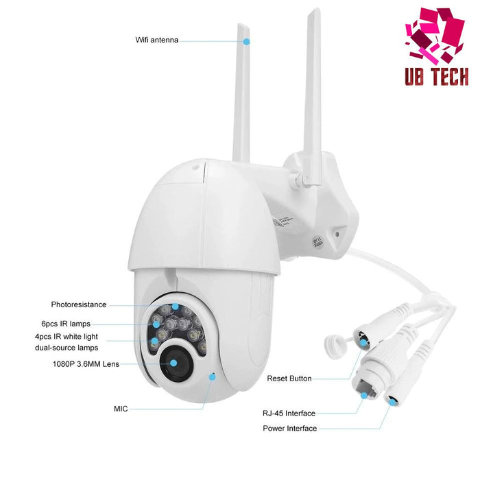 OUTDOOR SMART CCTV CAMERA (HOME & BUSINESS SECURITY) .