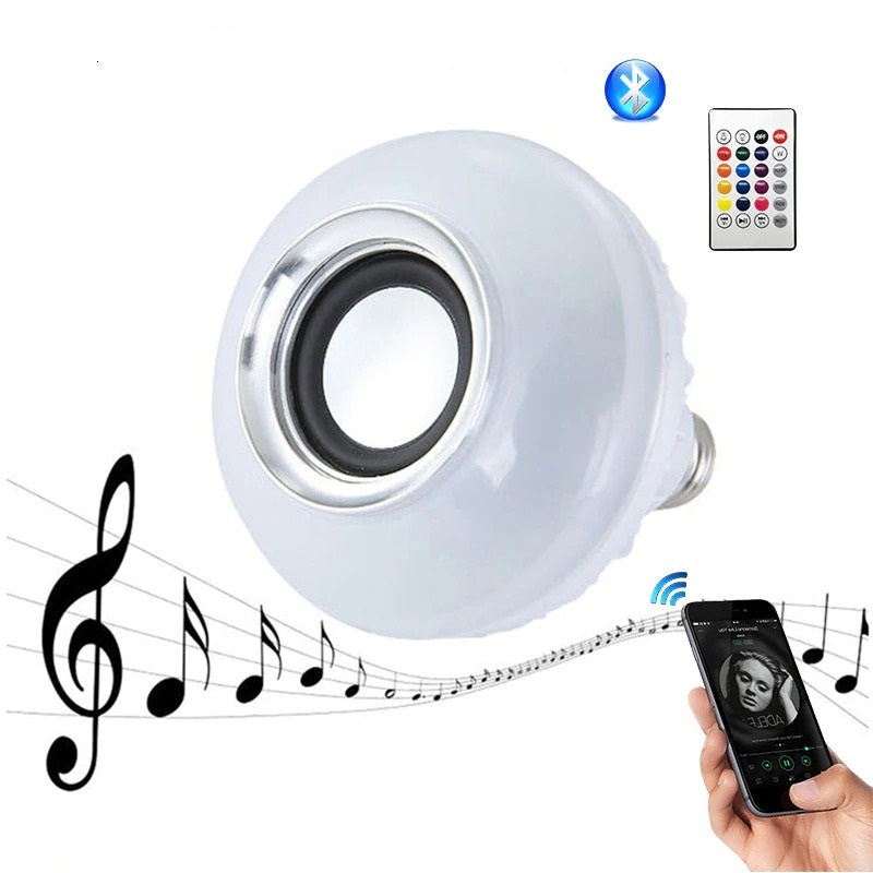 Bulb Led Light Speaker