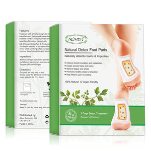 Natural Detox Foot Pads .