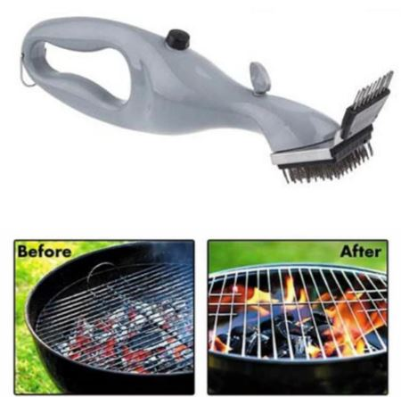Grill BBQ Vapor Cleaner Brush .