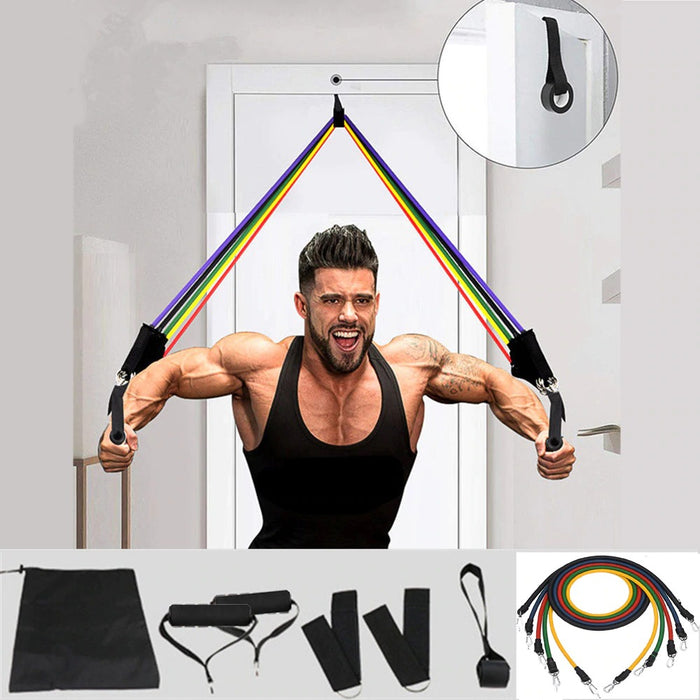 11 Pcs Fitness Resistance Band