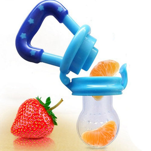 baby pacifier fruit soft nipple feeder