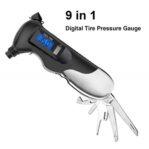 9 IN 1 DIGITAL TIRE PRESSURE GAUGE