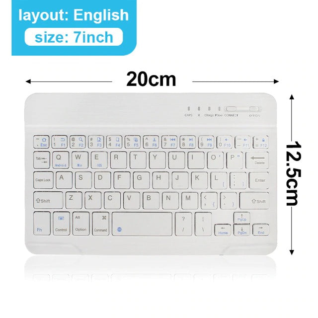MINI BLUETOOTH WIRELESS KEYBOARD .