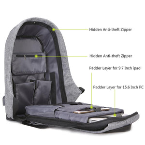 Anti-Theft Waterproof Backpack