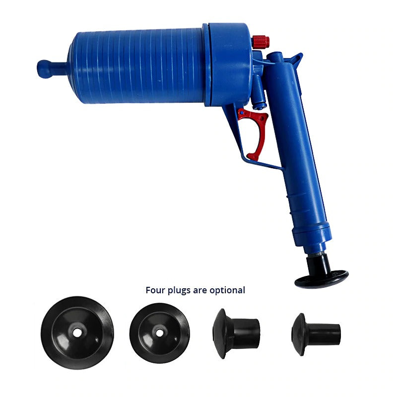 Air Power Drain Blaster Gun High-Pressure