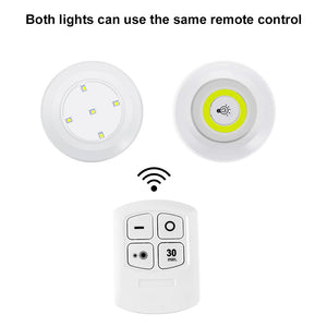 3 Pieces Remote Controlled LED Lights