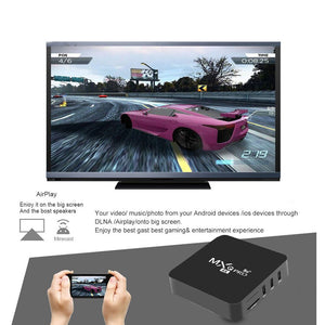 Android tv box MXQ pro 1080P Android 9.0 HD 5G WiFi