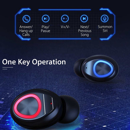 Bluetooth Earphones with Wireless Headsets