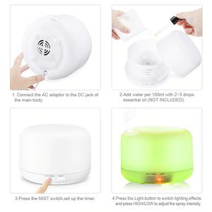 Ultrasonic Air Humidifier .
