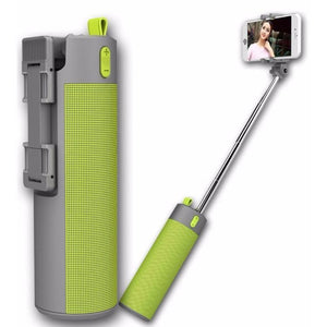 4 in 1 Selfie stick with power bank and speaker
