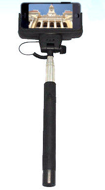 Selfie Pod - Extendable mobile phone monopod with Cable release