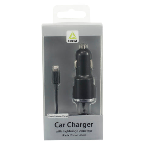 Car Charger with Lightning Connector (2.4A)