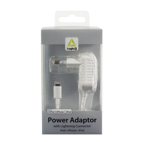 Lightning Connector AC Adaptor for iPad / iPhone / iPod (2.4A) - Euro Version