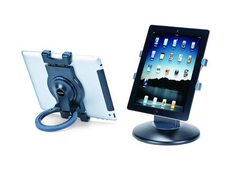 Tablet Stand and Station Combo (currently available in black only)