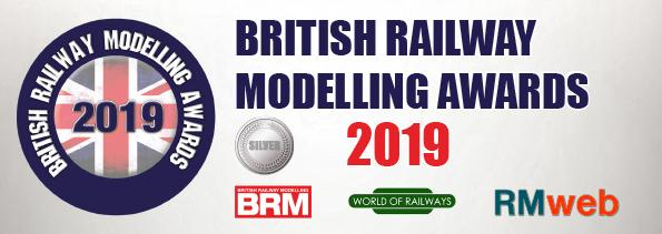 Silver Award - Darstaed Mk1 Suburban Coach Range in the category of 'O Gauge Rolling Stock'