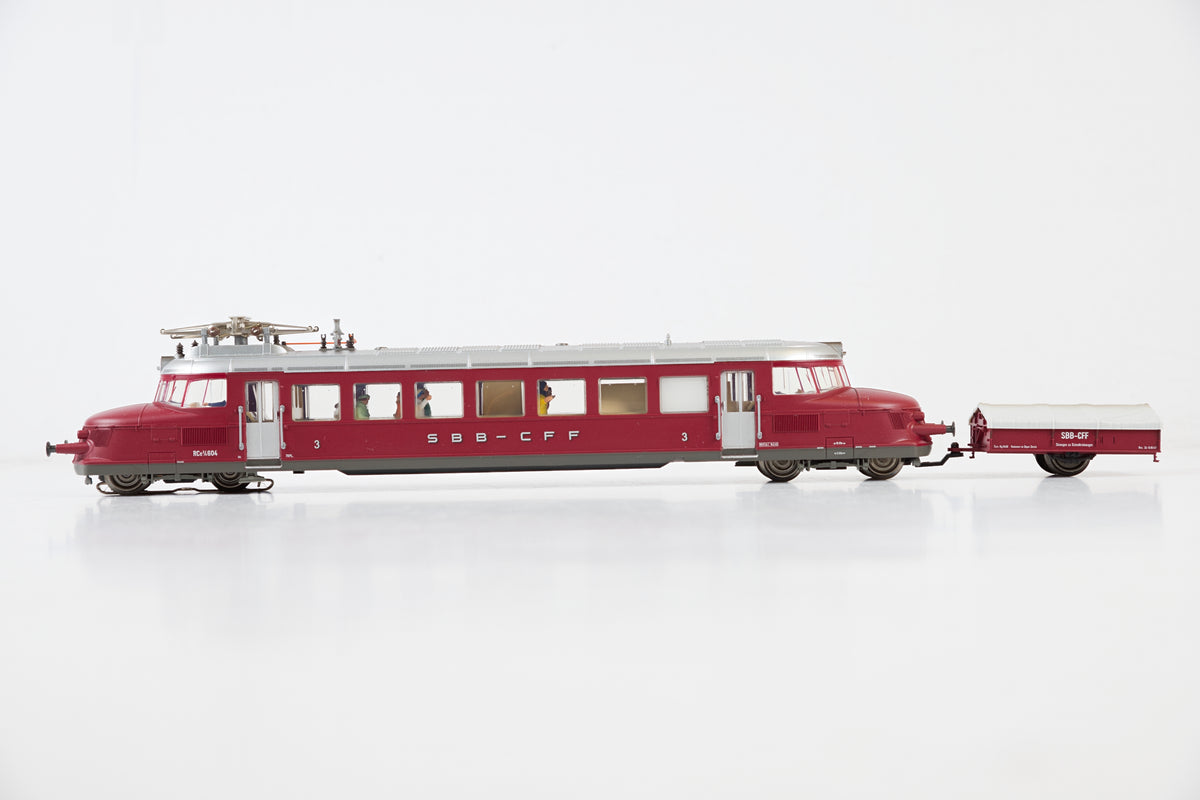 Marklin HO 37869 Class RCe 2/4 Powered Rail Car, MFX Sound