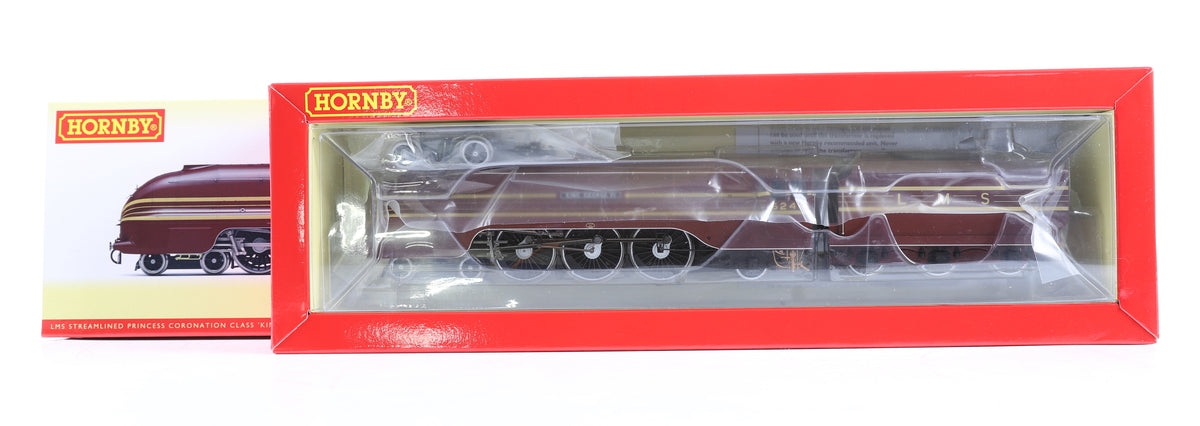 Hornby OO Gauge R3639 LMS Streamlined Princess Coronation Class 'King George VI' No.6244