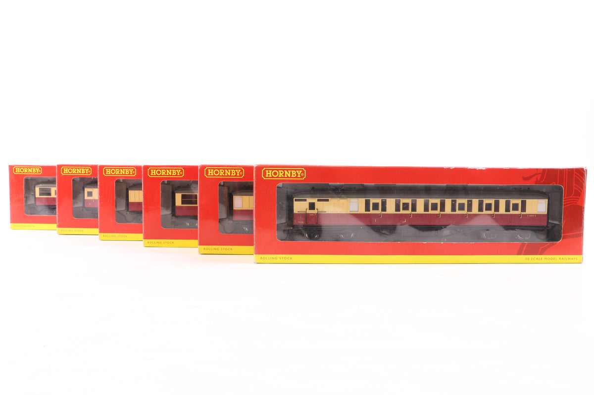 Hornby OO Rake of 6 Wagons Inc. R4181 + R4180 + R4178x2 + R4179 + R4182