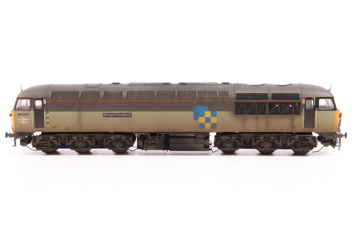 Hornby OO R3052 Class 56 56037 'Richard Trevithick', Custom Weathered/Detailed by GC Weathering