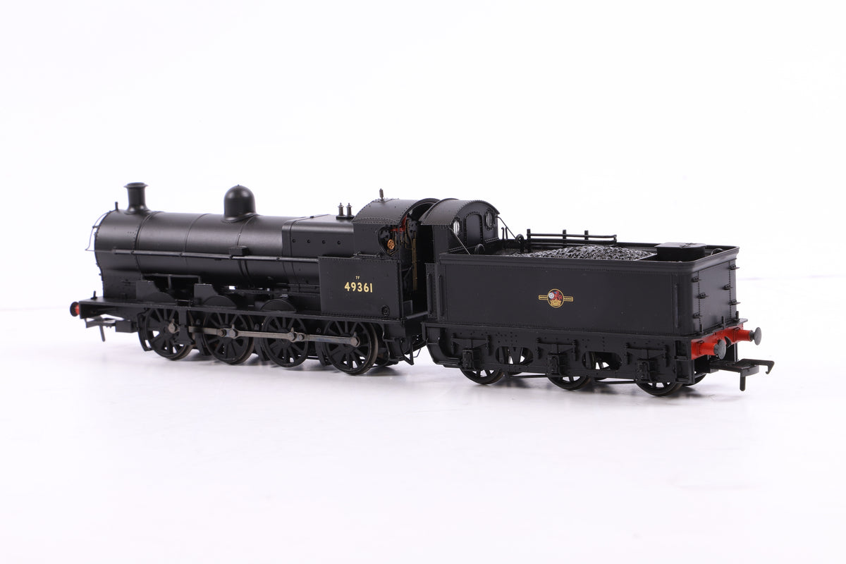Bachmann OO 31-477DC Class G2A 49361 BR Black L/Crest w/Tender Back Cab, DCC Fitted