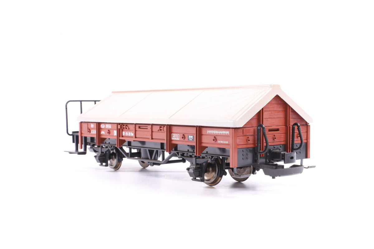 LGB G Scale 41235 DR Gondola with Tarpaulin