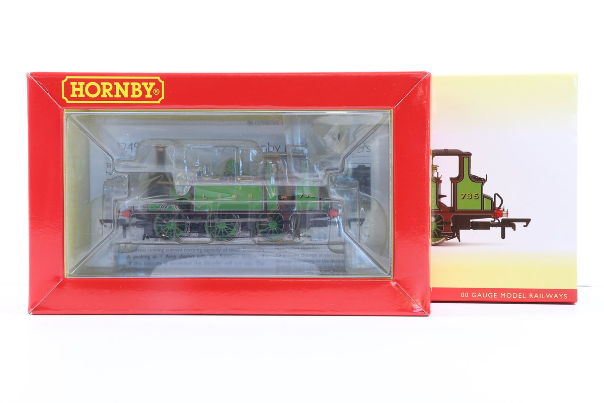 Hornby OO R3846X LSWR Terrier No.735, DCC Fitted
