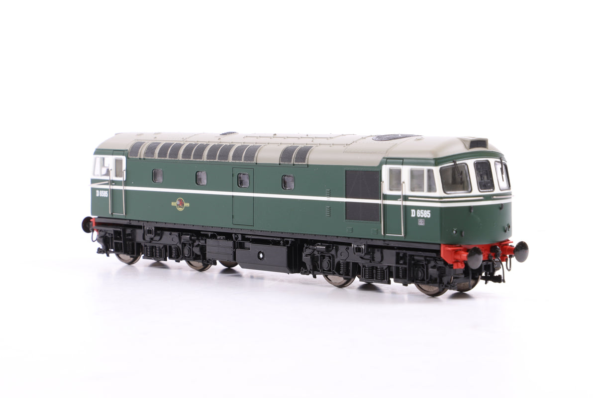 Heljan OO 33181 Class 33/0 D6585 'As-built' Early Green Livery