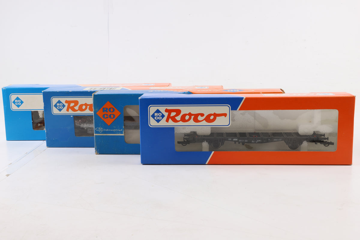 Roco HO Rake of 8 Wagons Incl. 46306, 46110, 46318, 4350, 3 x 46356 + 47731