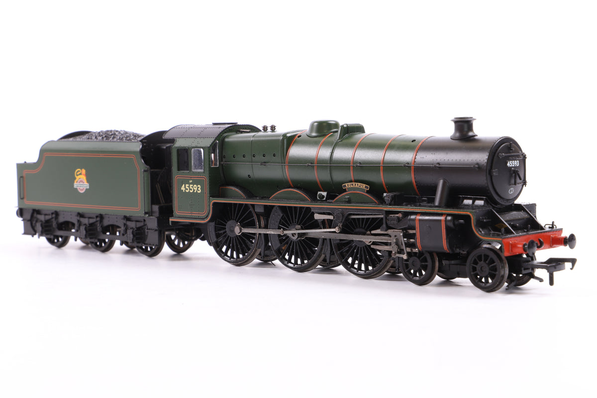 Bachmann OO 31-177DS Jubilee Class 45593 'KOLHAPUR' BR Lined Green E/Emblem, DCC Sound