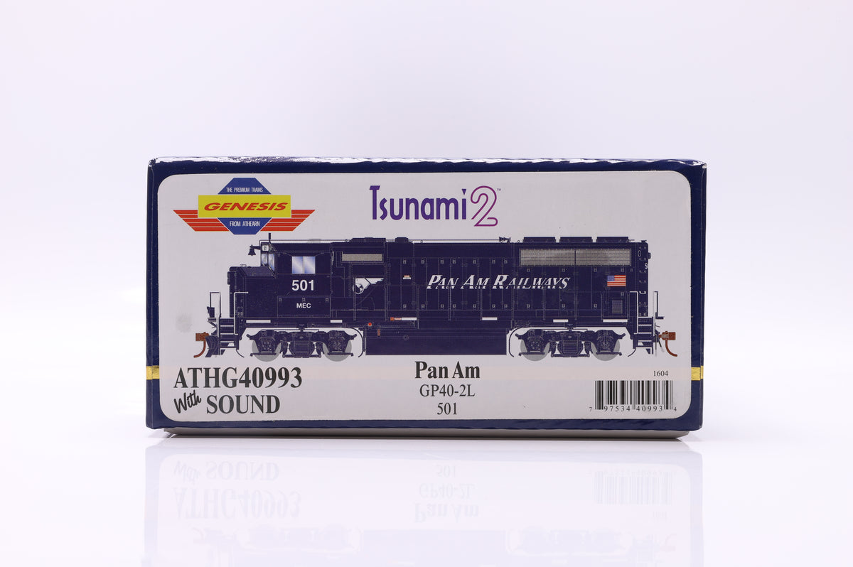 Athearn Genesis Pan Am GP40-2L 501 ATHG40993 With Sound