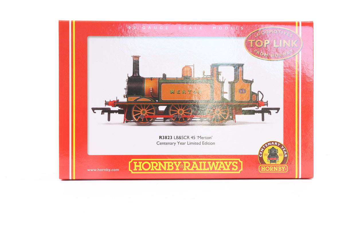 Hornby OO R3823 LB&SCR 45 'Merton' Centenary Year Limited Edition, 879 of 1000