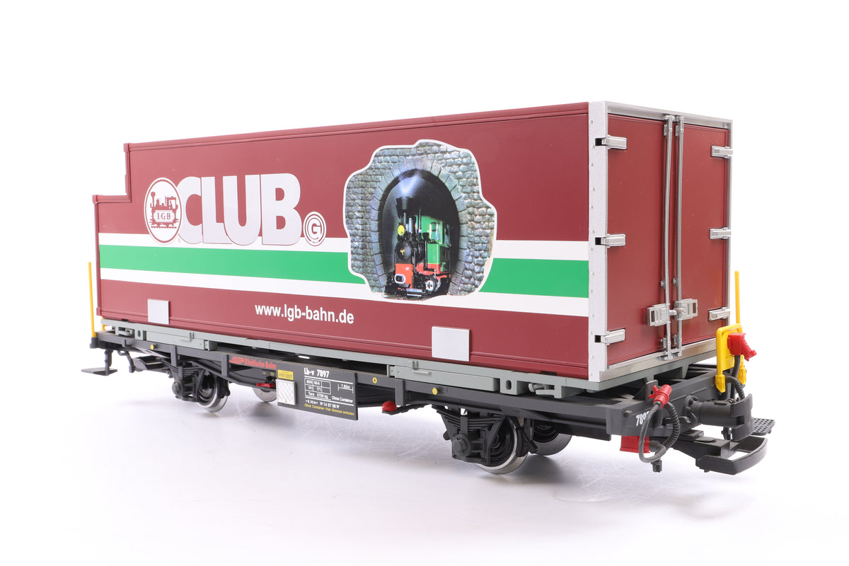 LGB G Scale 44894 Club Container Car for 2007