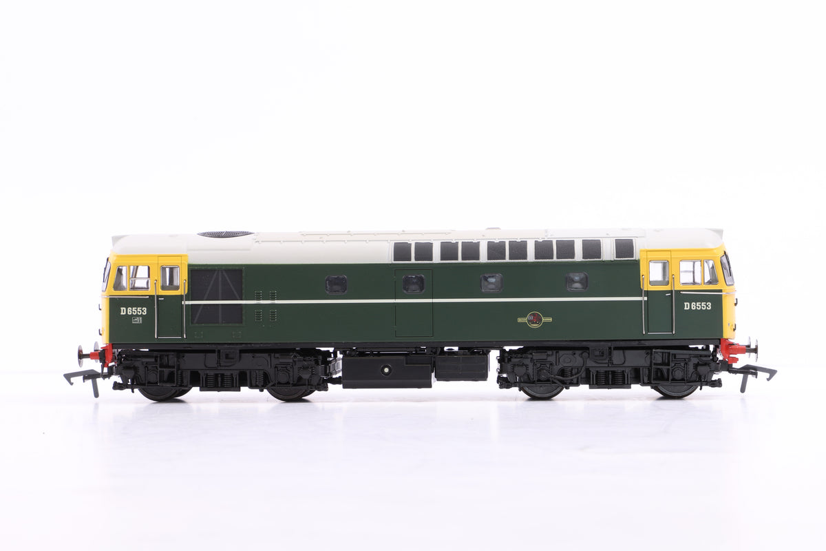Heljan OO 3310 D6553 BR Green w/Full Yellow Ends