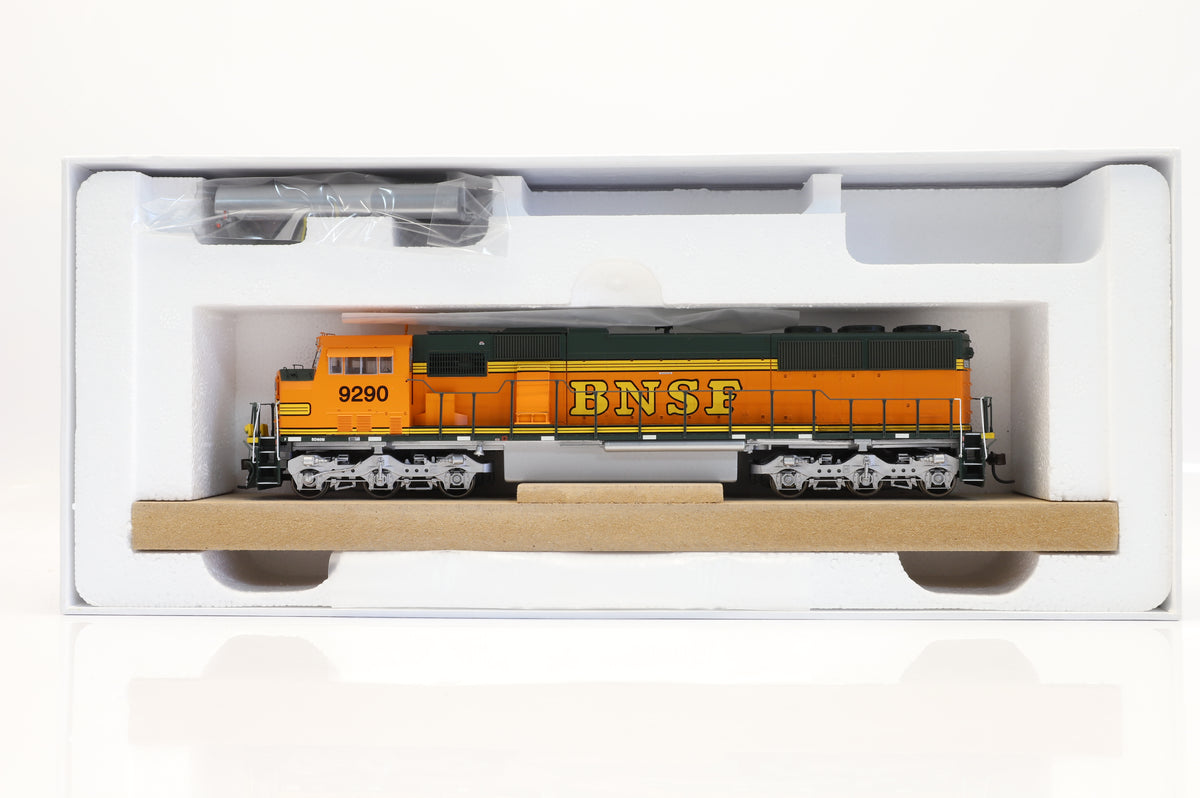 Athearn Genesis HO G67366 BSNF SD60M 9290, DCC Sound