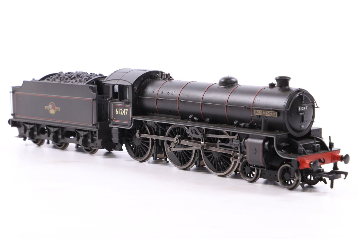 Bachmann OO 31-700Z B1 61247 'Lord Burghley' BR Black L/Crest, Weathered, Ltd Ed. 255