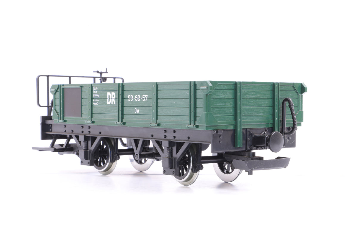 LGB G Scale 40055 DR Open Goods Wagon